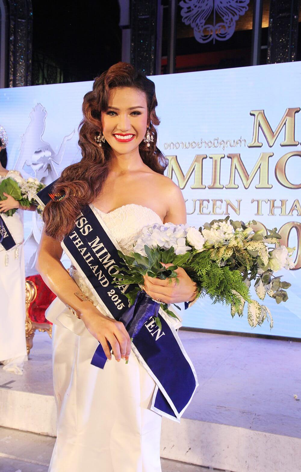 น้องคูนีย์-รองอันดับ2-Miss-Mimosa-Queen-Thailand-2015